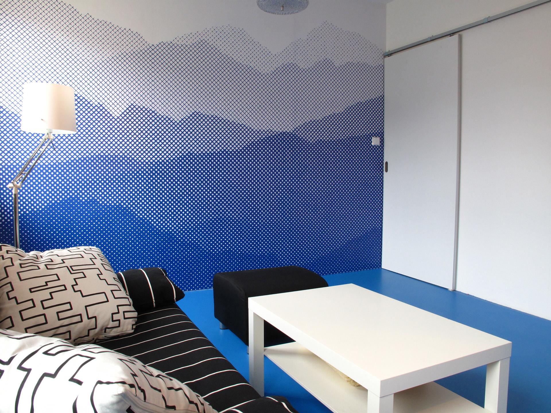 Interiér bytu pro vozíčkáře